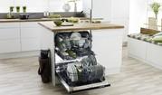 Стиль и удобство: частично встраиваемая посудомоечная машина